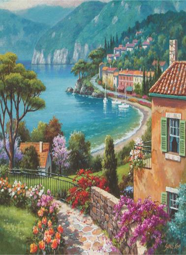 Anatolian  1500 Parça Göl Kıyısı 4547 Renkli